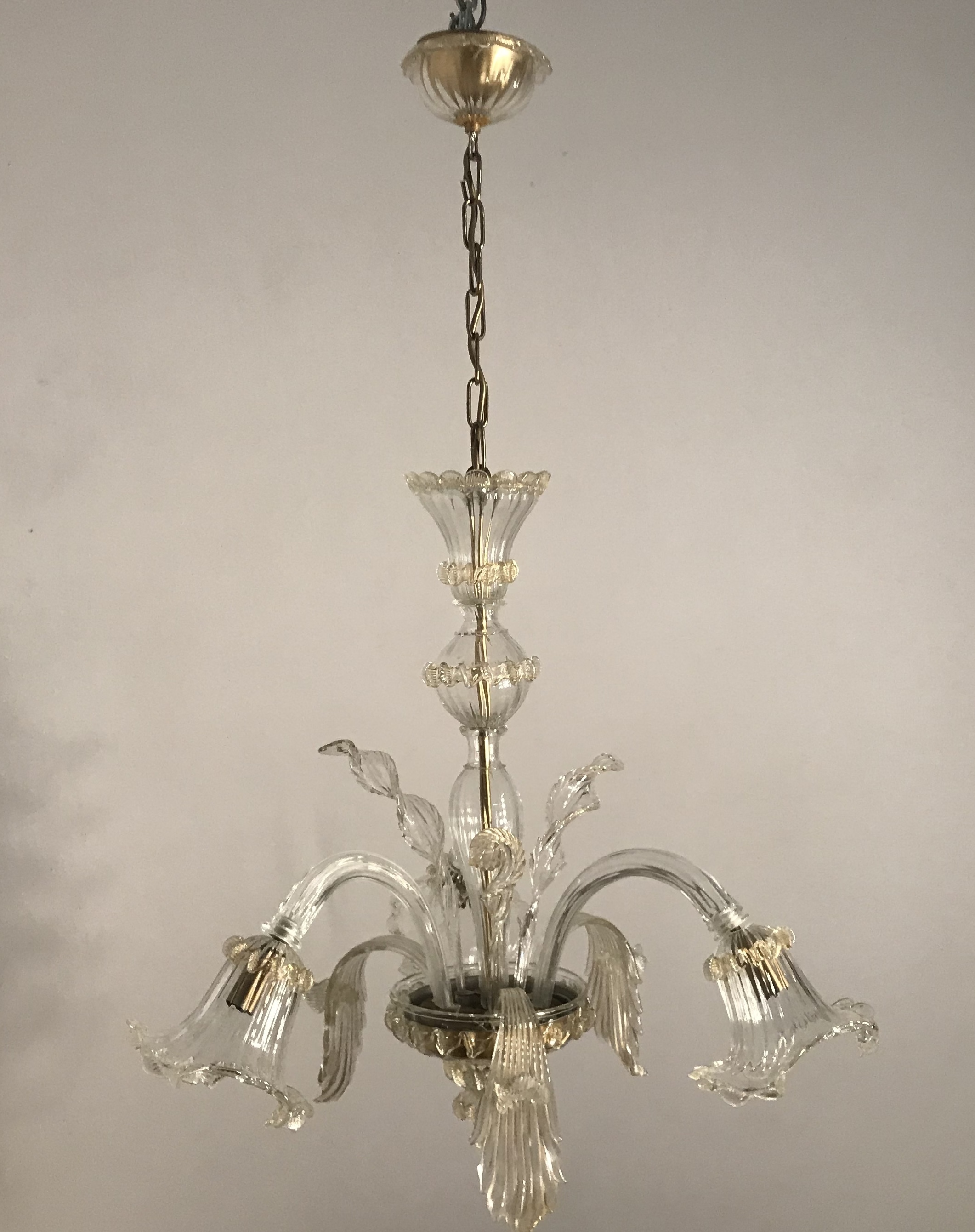 Murano chandeliers and Venetians mirrors: the Spare parts : 2019