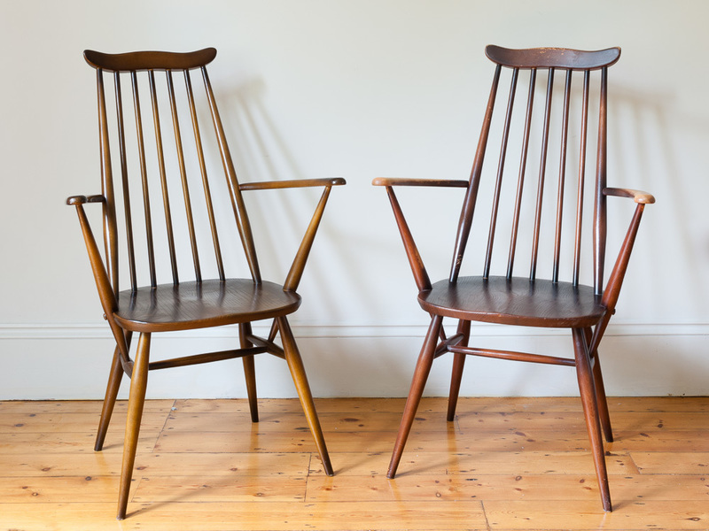 Ercol 'Goldsmith' Carver Dining Chairs photo 1
