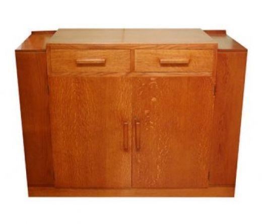 Heals Golden Oak Sideboard photo 1