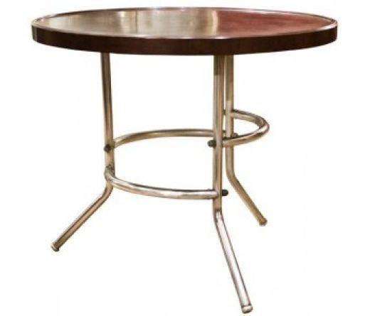 Art Deco Bakelite And Chrome Table