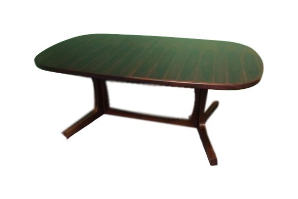Niels Koefoeds Hornslet Rosewood Extendable Dining Table
