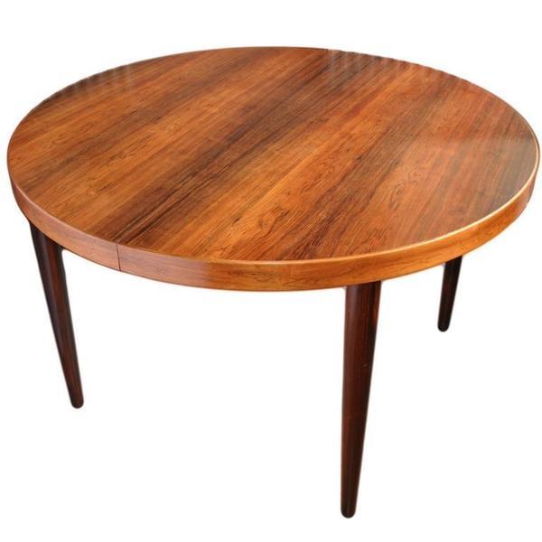 Kai Kristiansen Rosewood Extending Dining Table