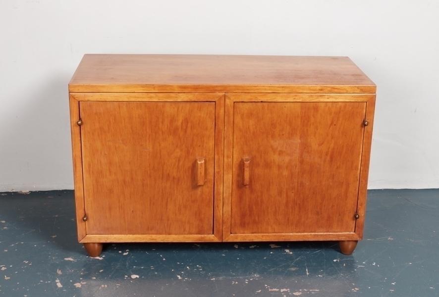 A Low Vintage Cupboard C1950