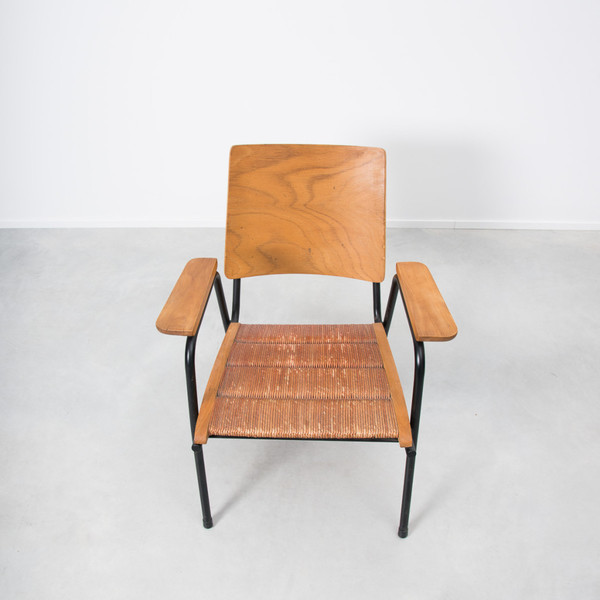 1950s French Plywood Chairs photo 1