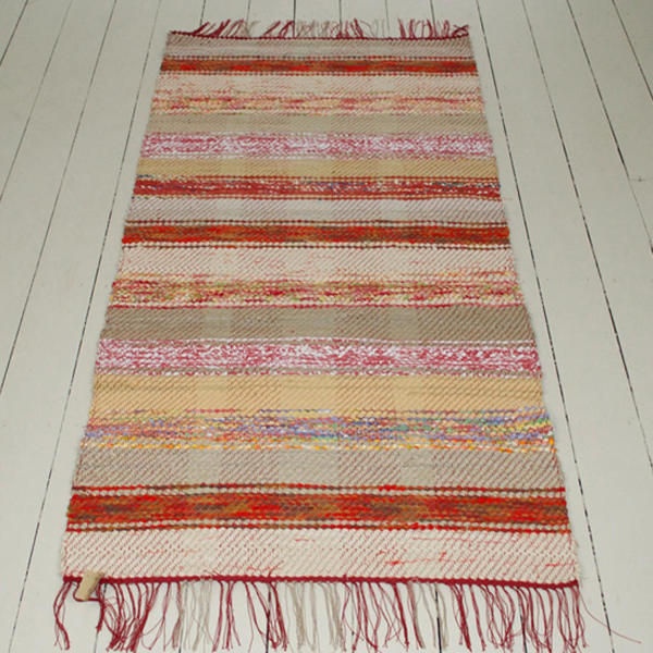 Handwoven Swedish Rug photo 1