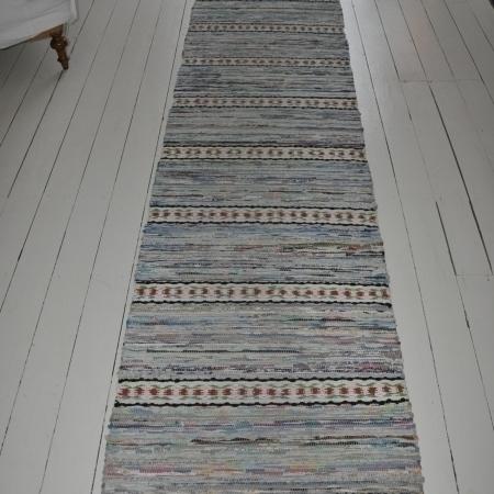 Swedish Vintage Handwoven Rug photo 1