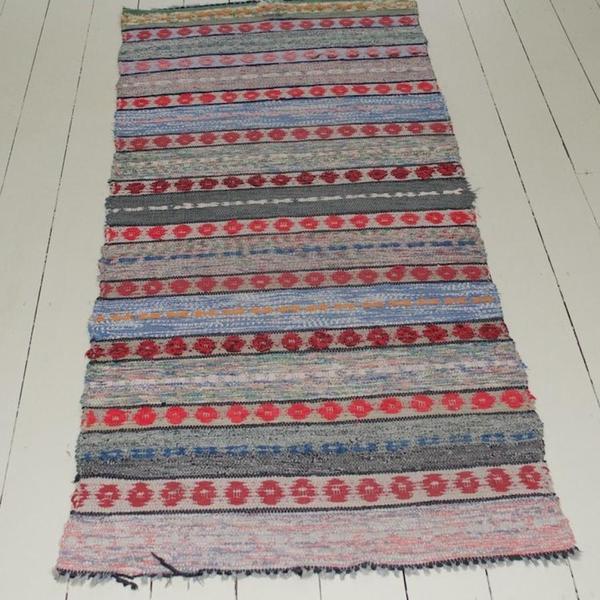 A Traditional Handwoven Swedish Rug photo 1