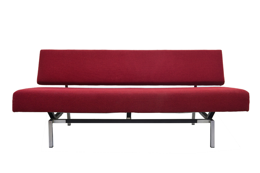Minimalistic Two Seater Sofa Bz53 By Martin Visser For 'T Spectrum, 1960s