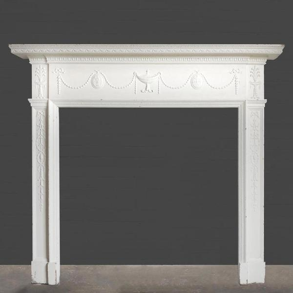 Edwardian Wooden Fire Surround