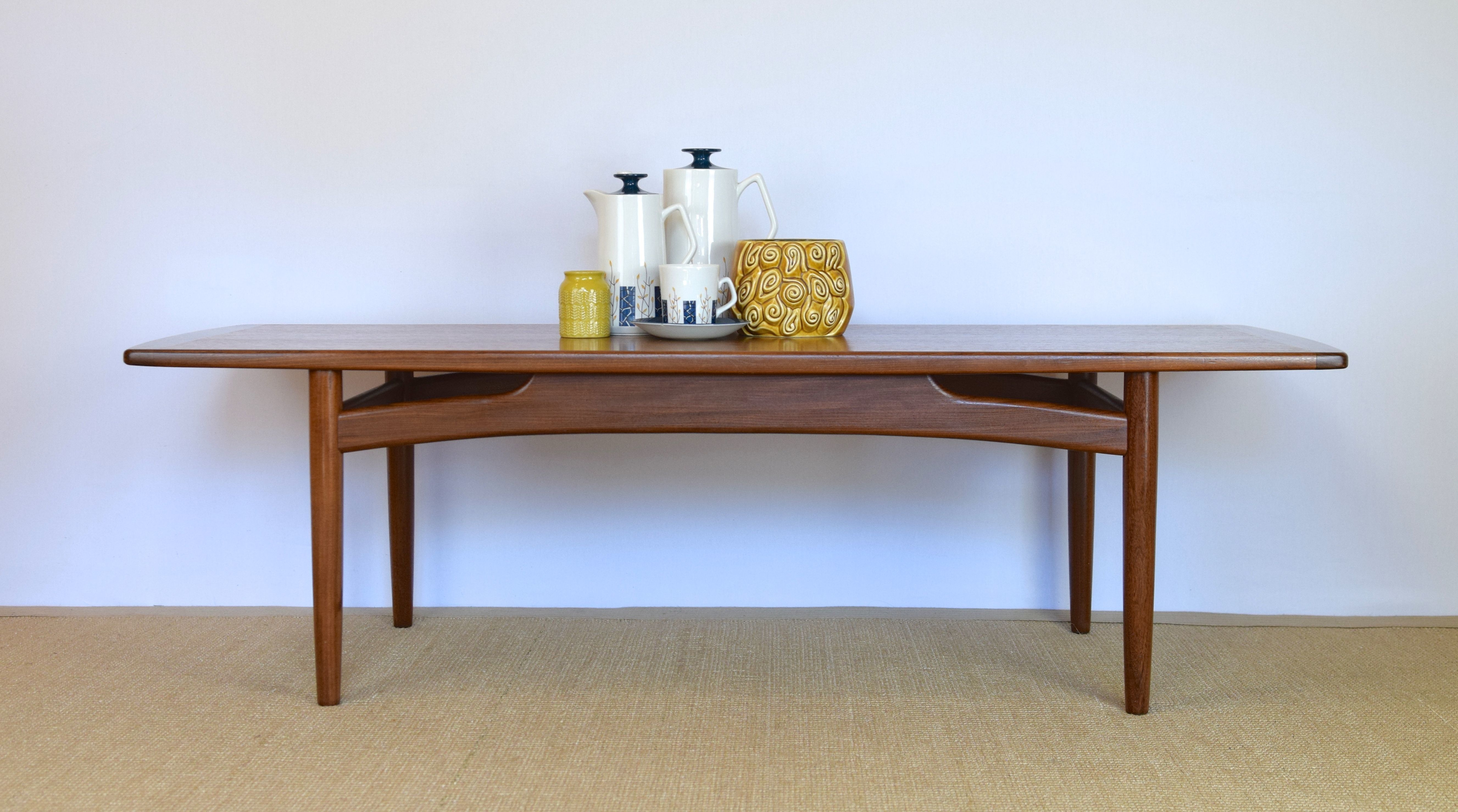 Large G Plan Coffee Table Mid Century Modern Furniture Mcm E Gomme Teak Table