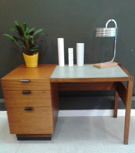 Industrial Mid Century Desk