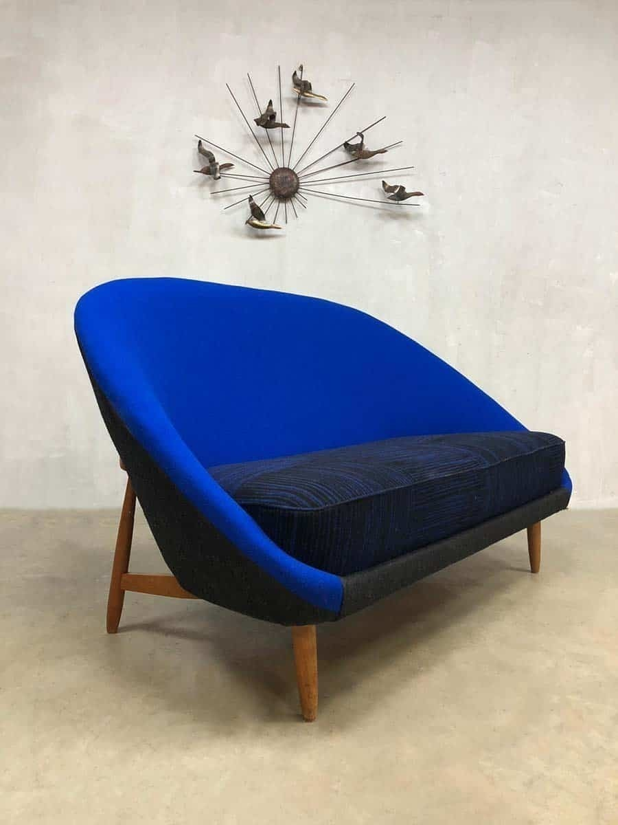 Dutch Design Bank.Vintage Dutch Design Loveseat Sofa Theo Ruth Artifort Bank Model 115