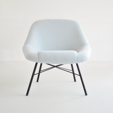 Dangles And De France Blue Easy Chairs