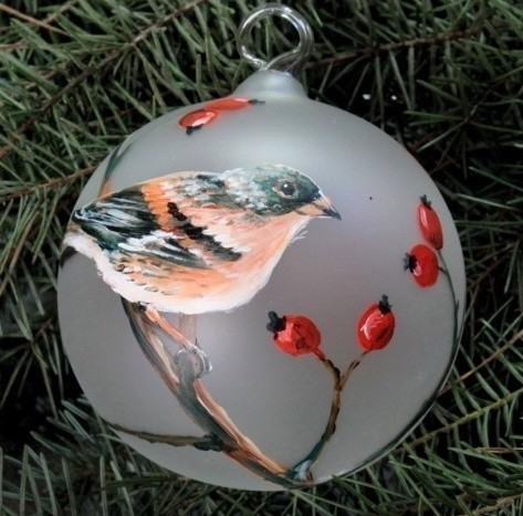 Bird Christmas Decorations Jay, Christmas Decorations