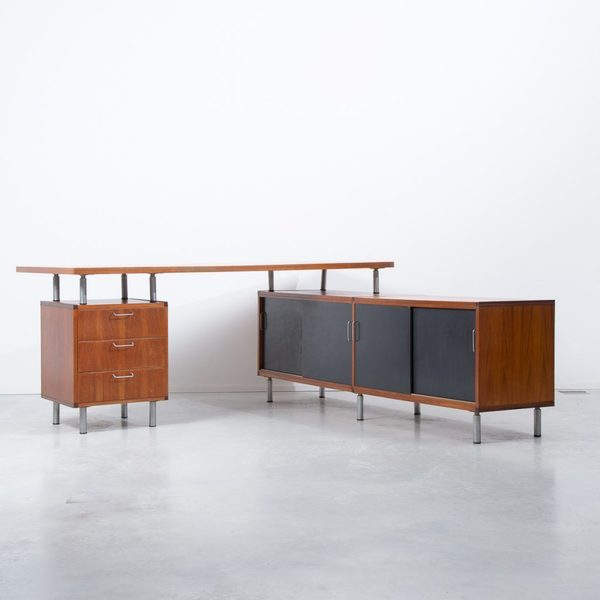 Cees Braakman For Pastoe L Shaped Executive Desk photo 1