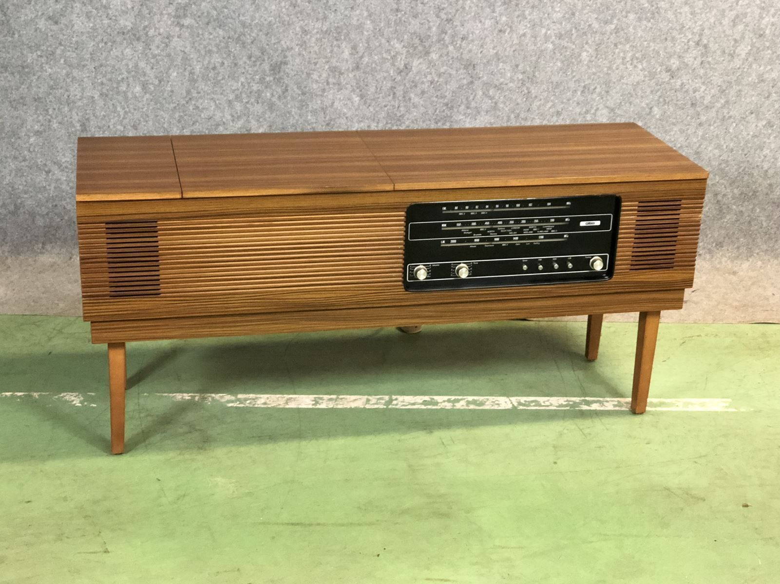 Teak Hi Fi Sideboard/Record Player, 1970s