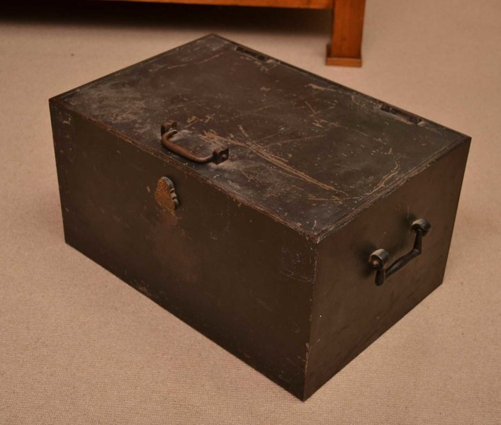 Antique Victorian Strong Box By Chubb C.1880