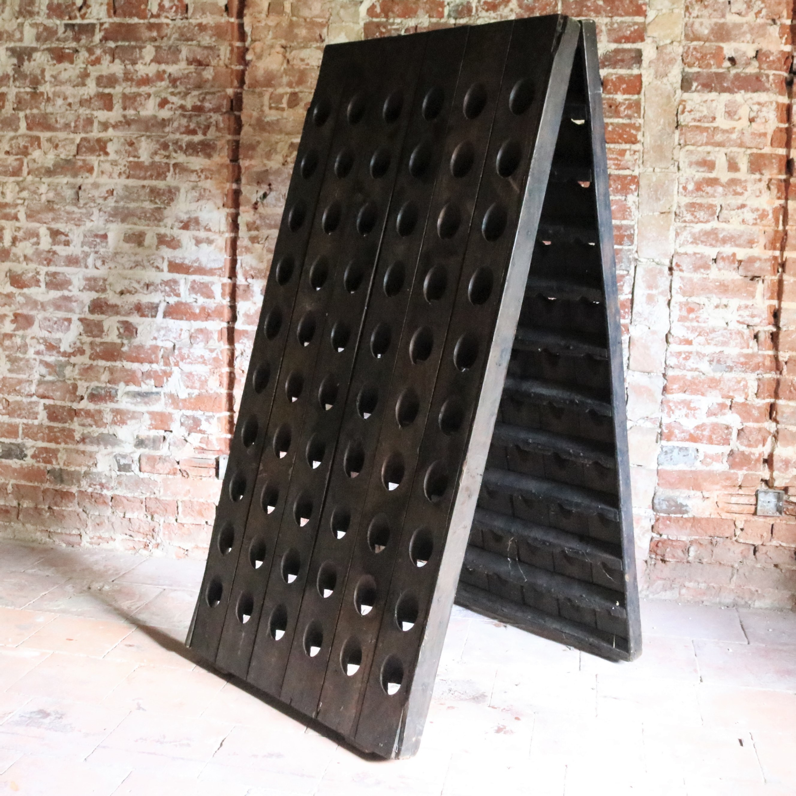 Antique French Champage Wine Riddling