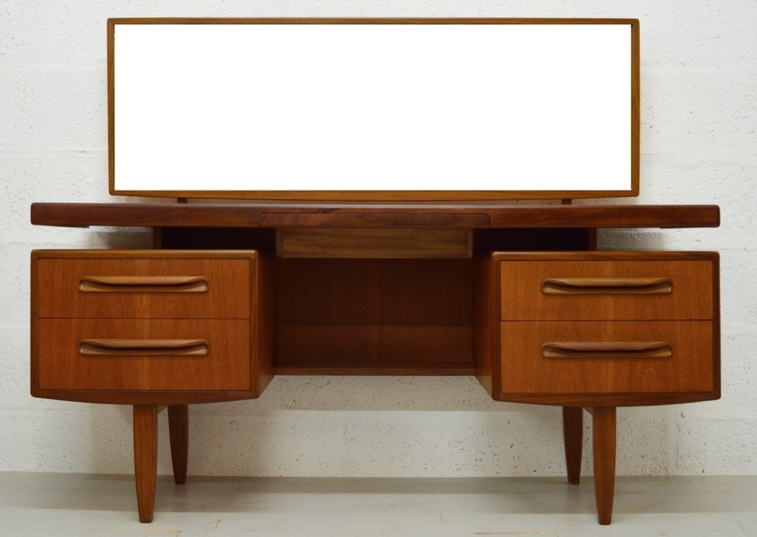 Mid Century Teak Fresco Dressing Table/Desk By G Plan photo 1
