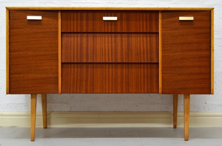 Mid Century Vintage Teak Avalon Yatton Sideboard