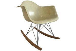 Thumb charles eames zenit rar rocker chair first edition rope edge colour lemon 0