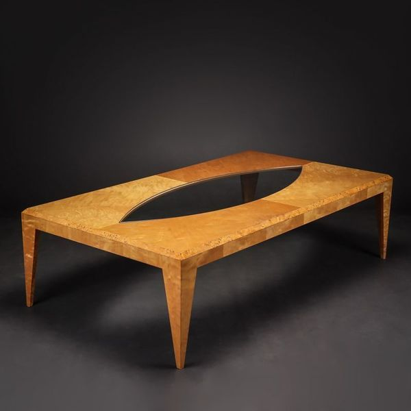 Large Maple Coffee Table By Klaus Wettergren photo 1