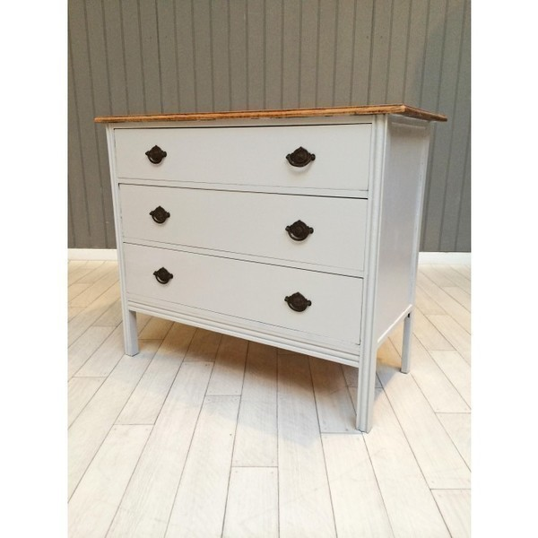 French Grey Chest Of Drawers
