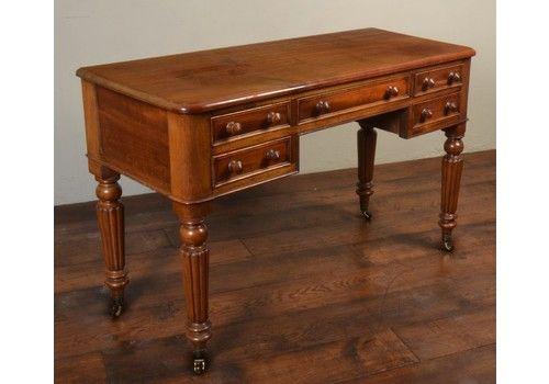 Victorian Mahogany Dressing / Writing Table Circa 1870