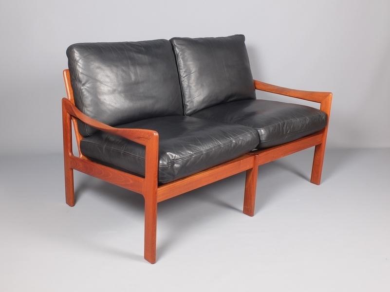 Illum Wikkelso Teak 2 Seat Sofa