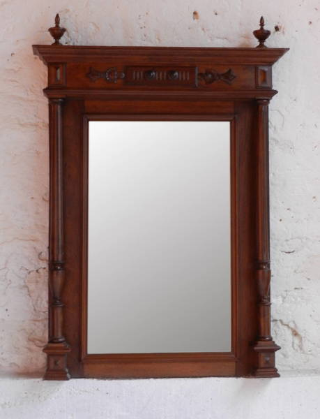 Henri Ii Overmantle Mirror