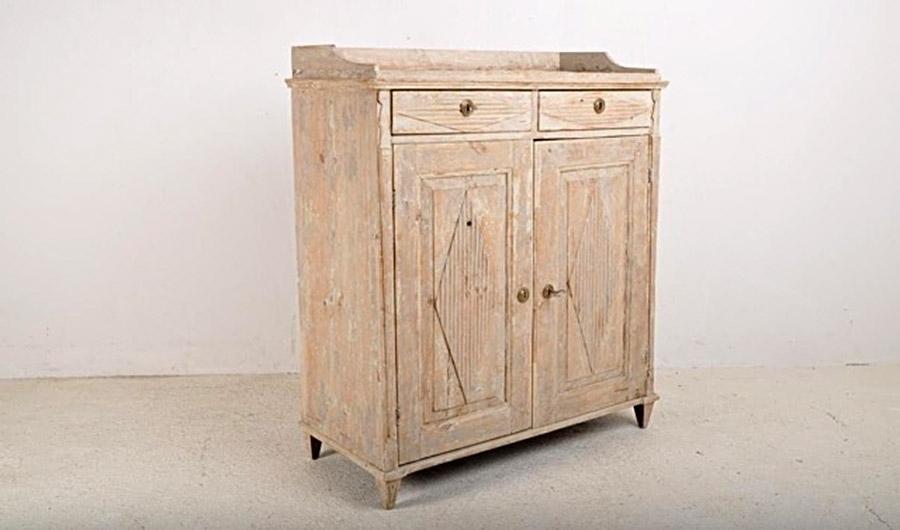 A Period Gustavian Buffet C1800
