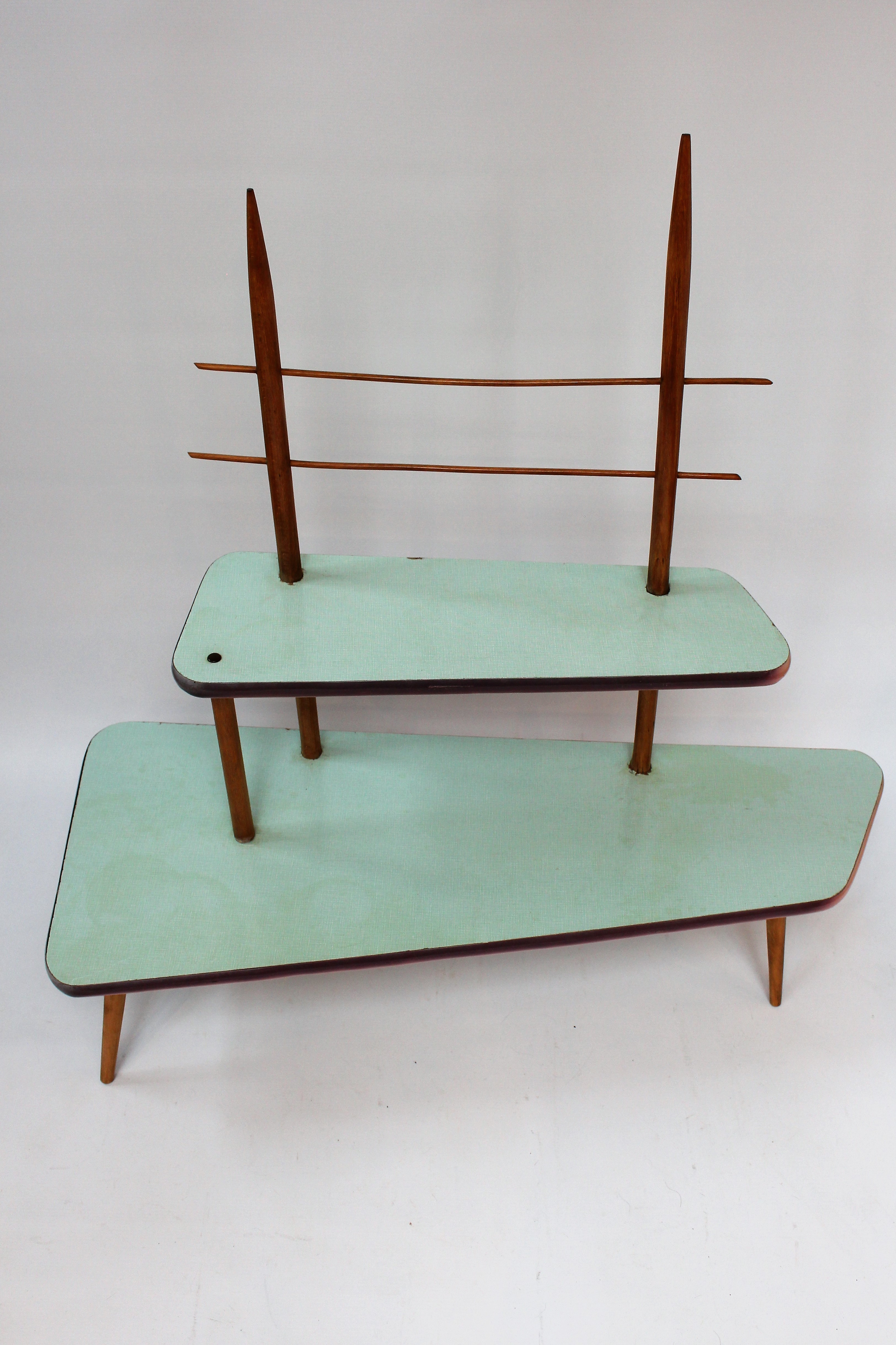 Magnificent Midcentury Modern Danish Vintage Flower Bench Plant Stand Gmtry Best Dining Table And Chair Ideas Images Gmtryco