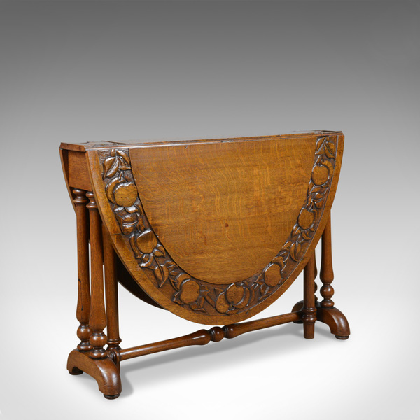 Antique, Arts & Crafts Sutherland Table, Liberty Esque, Occasional, Centre C1900