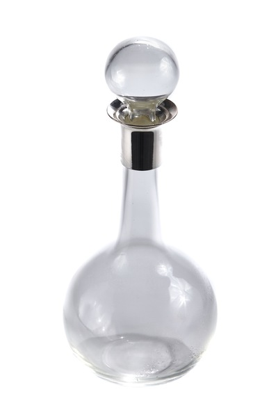 Art Deco Silver Plated Top Decanter