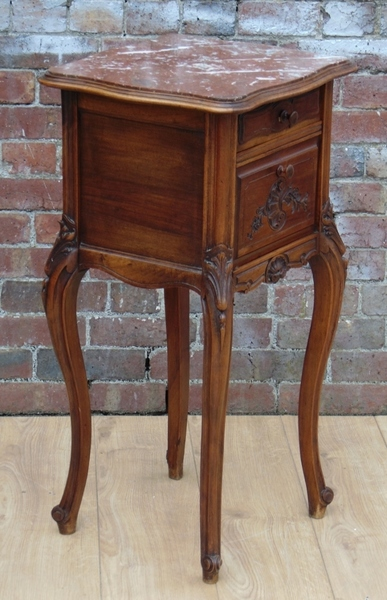 Antique French Bedside Cabinet photo 1