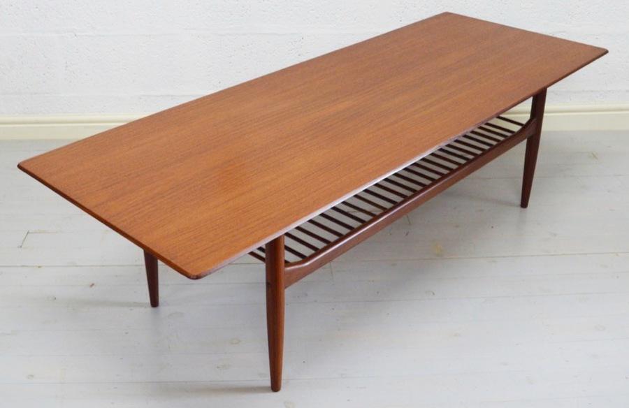 Mid Century Large Teak Coffee Table By Kofod Larsen For G Plan