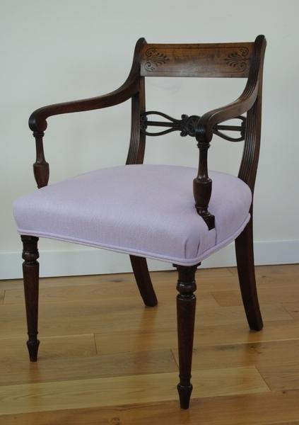 Antique Regency Armchair