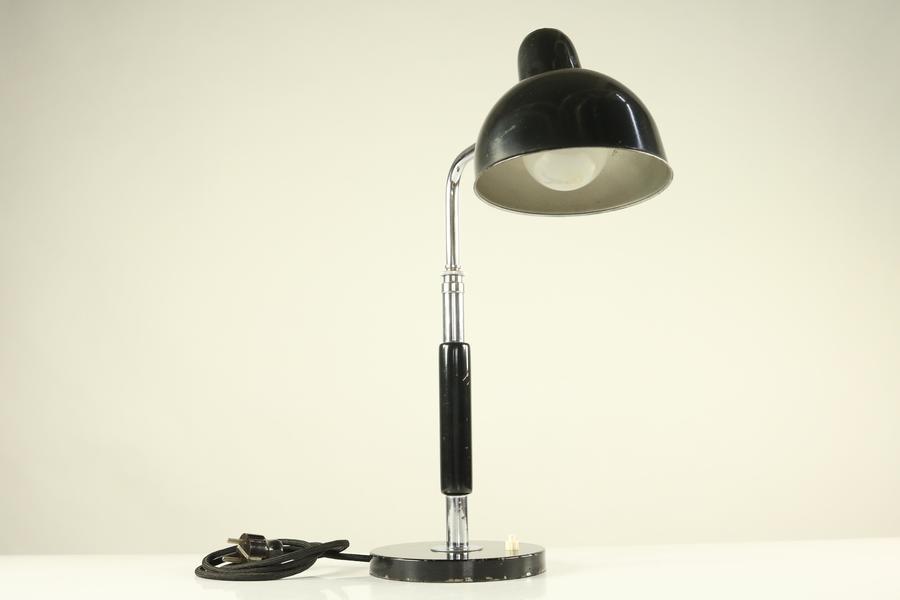 Christian Dell Desk Lamp By Kaiser Idell Bauhaus 1930s Design 1934 Model 6607 Christian Dell Vinterior