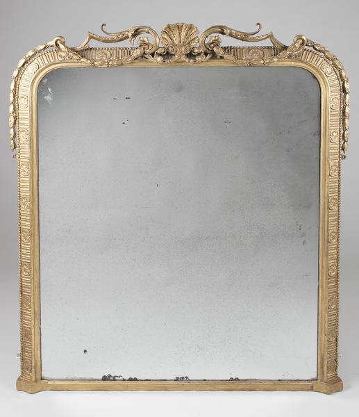 English Gilt Overmantle Mirror
