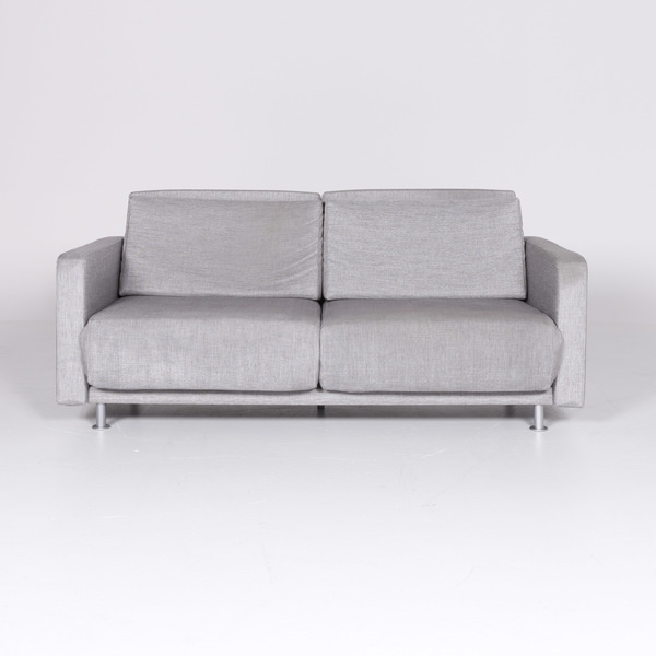 Terrific Bo Concept Melo Designer Fabric Sofa Gray By Anders Norgaard Two Seater Function Couch 8476 Unemploymentrelief Wooden Chair Designs For Living Room Unemploymentrelieforg