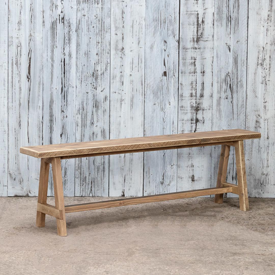 Peachy Reclaimed Wooden Bench Handmade Reclaimed Wood Modern Rustic Industrial Creativecarmelina Interior Chair Design Creativecarmelinacom