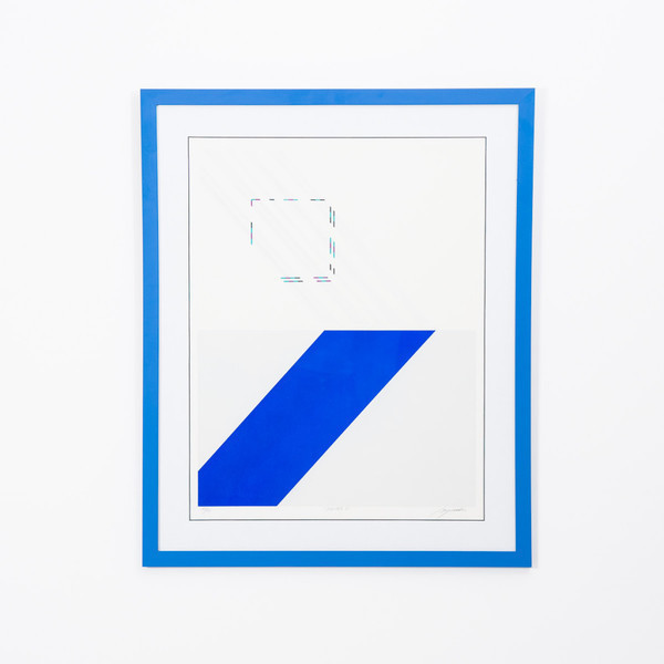 "Rafael Bogarin ""Jupiter 5"" Serigraph Print"