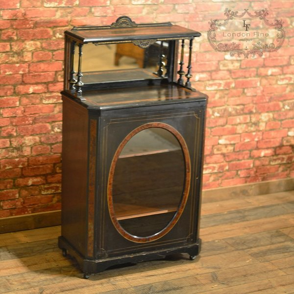 C.1880, Aesthetic Period Display Cabinet