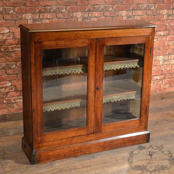 Victorian Glazed Bookcase