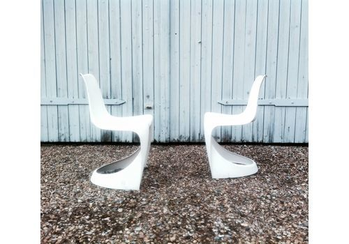 A Line 290 Side Chairs By Steen Ostergaard For Cado, 1970s, Set Of 2