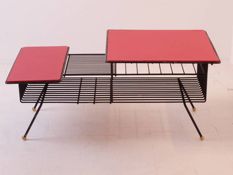 Coffee Table By Meuble Tv In The Style Of Adnet