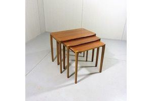 Thumb set of 3 nesting tables by rex raab for wilhelm renz germany 0