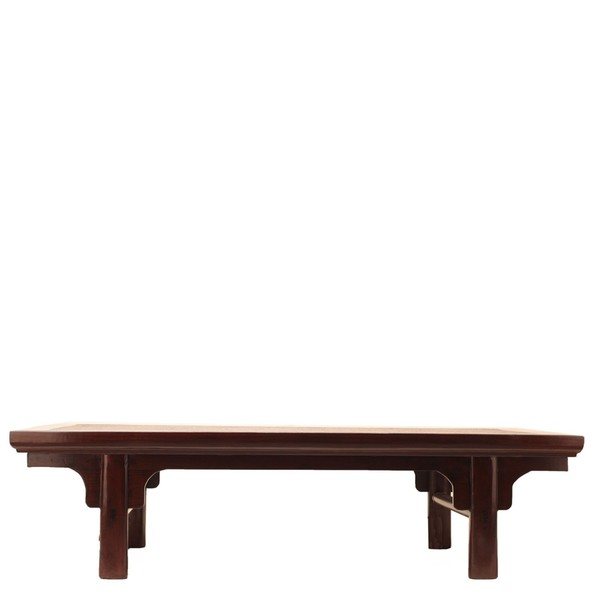 Brown Lacquered Chinese Coffee Table C.1895