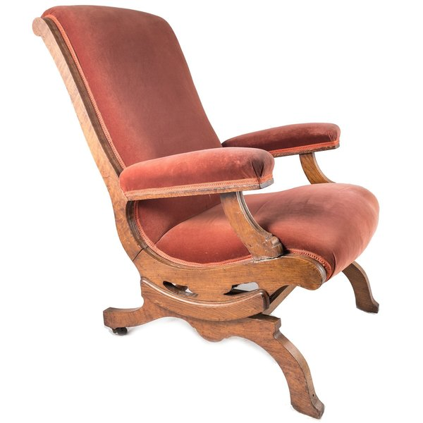 Phenomenal Victorian Walnut Platform Rocking Chair Gmtry Best Dining Table And Chair Ideas Images Gmtryco