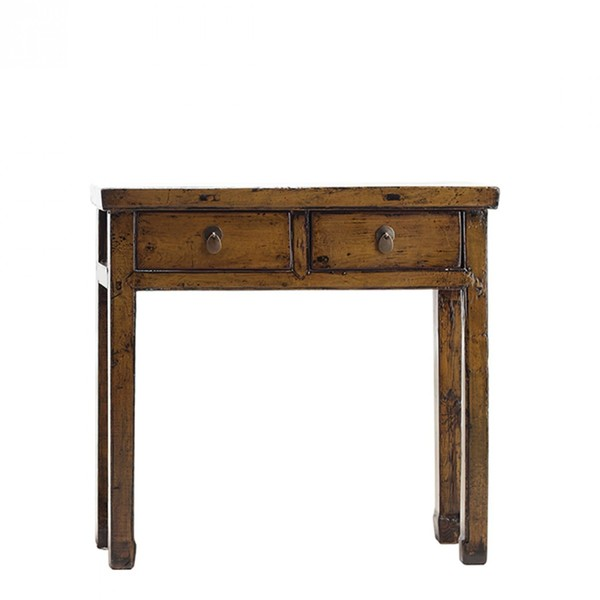 Mustard Lacquer Console Table C.1920